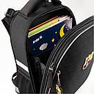 Рюкзак школьный каркасный ортопедический Kite Education Fc Barcelona Черный (BC19-531M), фото 7