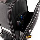 Рюкзак школьный каркасный ортопедический Kite Education Fc Barcelona Черный (BC19-531M), фото 8