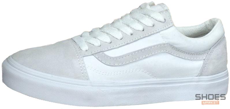 Мужские кеды Vans Old Skool Pro Skate Colab White, Ванс Олд Скул