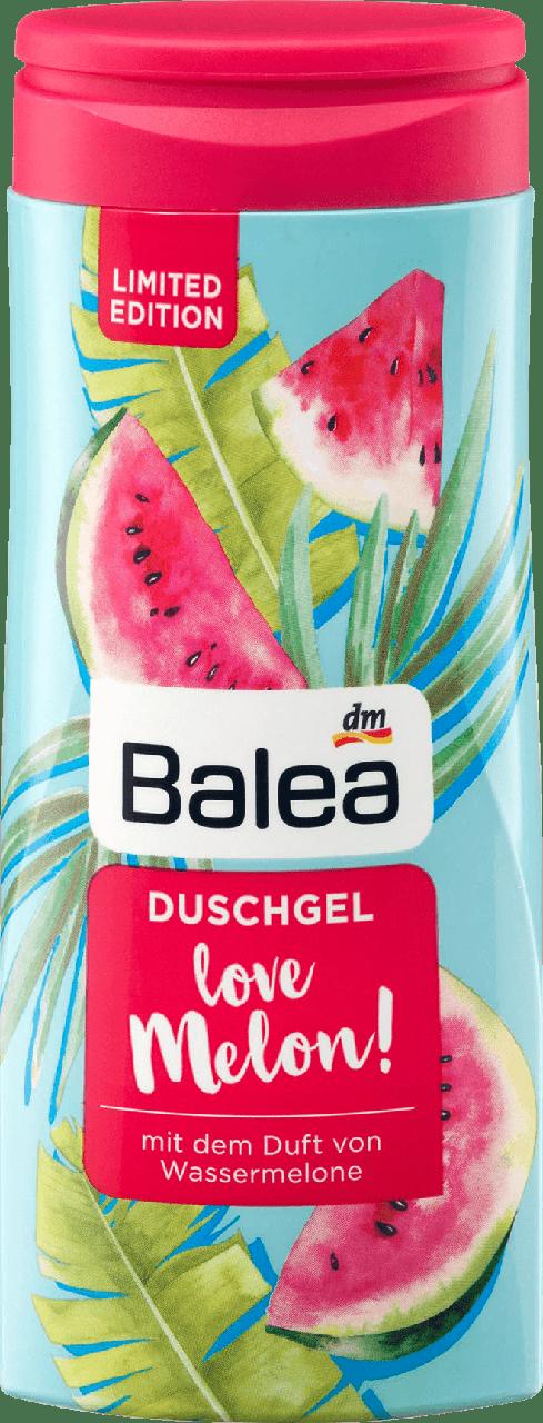 Гель для душа Balea Love Melon, 300 мл.