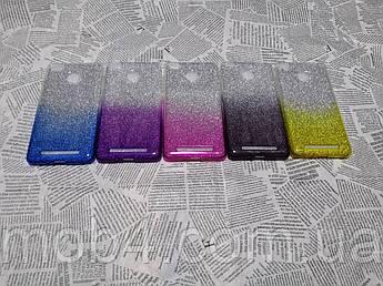 TPU чохол накладка Блискітки Градієнт для Xiaomi Redmi 3S / 3Pro