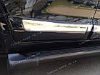 Молдинги на двери Toyota Land Cruiser 200 2007-2015 цвет белый, фото 4