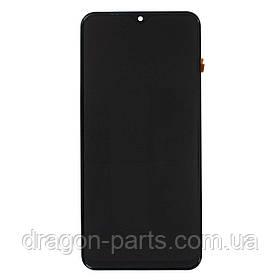 Дисплей Samsung M205 Galaxy M20 2019 с сенсором Черный Black оригинал , GH82-18682A