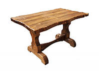 "Стол под старину из дерева ""Волна"""