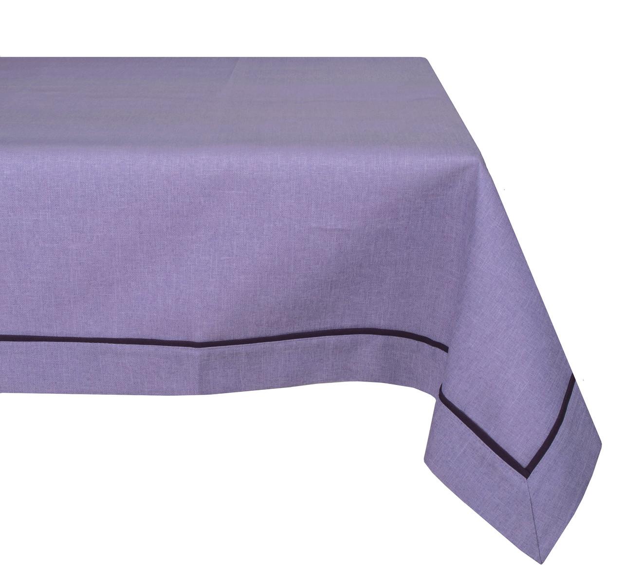 Скатерть Stephani 002 Dekorart 4478 118x200 см Фиолетовая