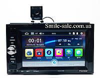 Автомагнитола 2Din Pioneer 7622CRB 1026*600px, USB,SD, Video + ПУЛЬТ НА РУЛЬ+КАМЕРА, фото 1