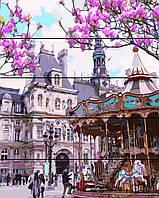 Картина по номерам по дереву Площадь в Праге (RA-AS0147) 40 х 50 см Rainbow Art
