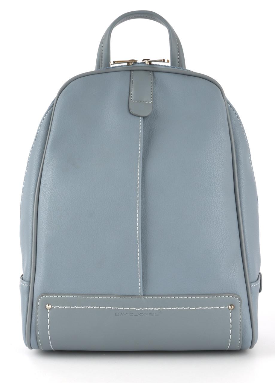 Стильный и качественный оригинальный рюкзак интересной формы с кожи PU DAVID JONES art. CM3905T