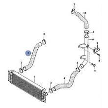 Патрубок инркулера VW Crafter (100-120kw) R