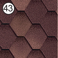 Битумная черепица RoofShield Стандарт 0.0, 25, Плоская, Классик капучино