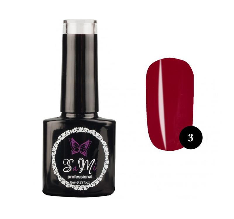 Гель лак для ногтей SaMi Professional 8 ml, №3