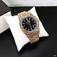 Часы в стиле    Audemars Piguet Royal Oak Quartz Gold-Black Skull