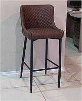 Стул барный Canyon MC15B винтажный коричневый, металлический каркас стиль модерн