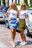 """Стильная мини юбка """" Джинс """"  Yulia, фото 1"""