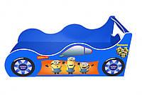 """Кровать-машинка Viorina-Deco """"Forsage"""". Детская кровать с миньонами."""