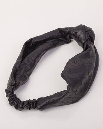 Повязка-узелок кожаная, фото 2