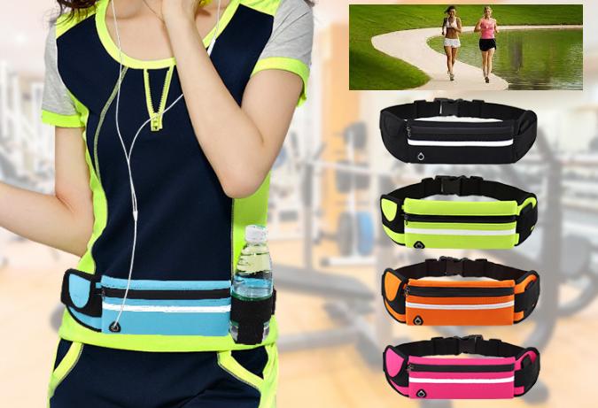 Спортивная сумка ремень на пояс для зала. Поясная сумка чехол для бега. Чехол для телефона, ключей и бутылки