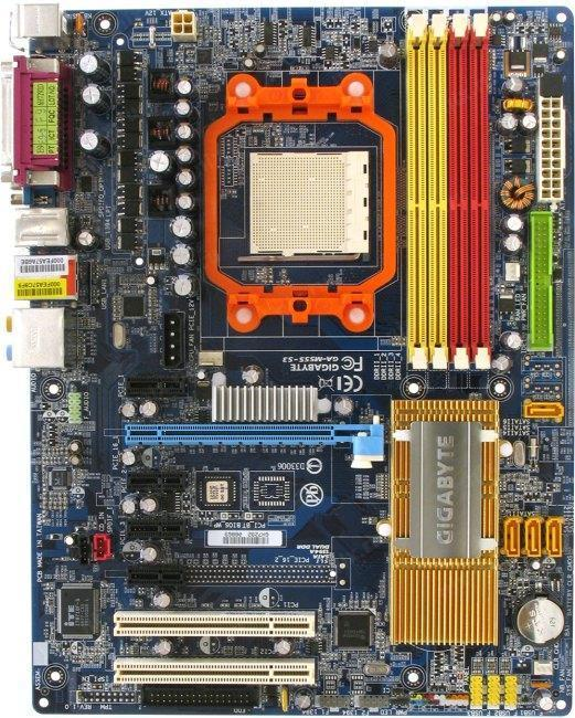 УЦЕНКА-СЕТЬ! ТОПОВАЯ Плата sAM2 AM3 GIGABYTE GA-M55S-S3 с5ю PCI-EXPRES Поним ВСЕ 2-4ЯДРА X2-X4 до PHENOM II X4