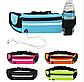 Спортивная сумка ремень на пояс для зала. Поясная сумка чехол для бега. Чехол для телефона, ключей и бутылки, фото 3