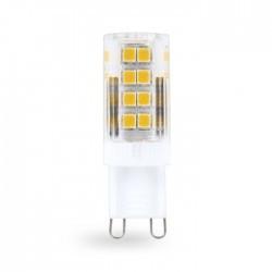 Светодиодная лампа Feron LB-432 230V 4W 51leds G9 4000K 350Lm
