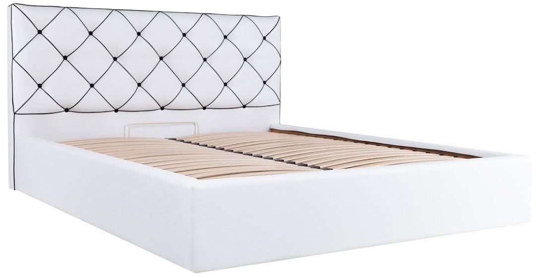 Ліжко Меліса Стандарт Флай-2200 білий,140х190 (Richman ТМ)