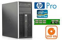 Системный блок HP Pro 6000 (2 ядра/4Gb DDR3/250Gb)