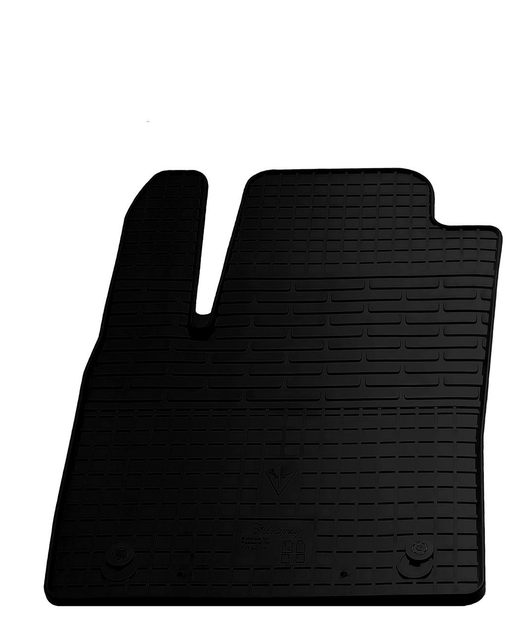 Водительский резиновый коврик для Fiat 500 2007- Stingray
