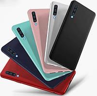 TPU чехол Candy для Samsung Galaxy A50 2019 A505 (Разные цвета)