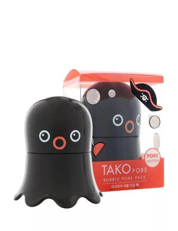 Очищающая пузырьковая маска от чёрных точек Tony MolyTako Pore Bubble Pore Pack