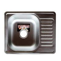 Мойка кухонная Platinum 5848 Decor 0,8мм стальная