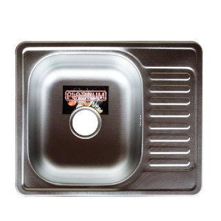 Кухонная мойка Platinum 5848 MicroDecor 0,8мм нержавеющая сталь