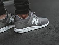 Кроссовки New Balance 247 Gray Серые мужские реплика