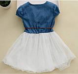 Оригинальное коттоновое  платье размер 98., фото 2