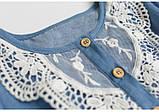 Оригинальное коттоновое  платье размер 98., фото 3