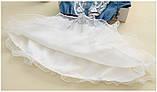 Оригинальное коттоновое  платье размер 98., фото 6
