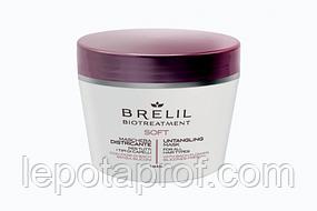 Маска для непослушных волос без силиконов Brelil Biotreatment Soft, 220 мл