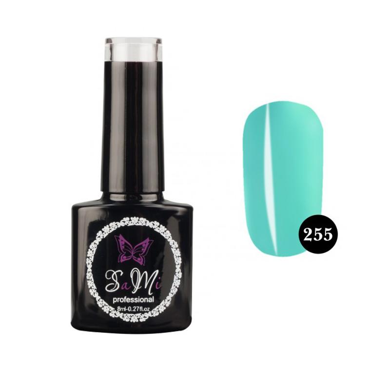 Гель лак для ногтей SaMi Professional 8 ml, №255