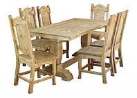 """Мебель из дерева.Комплект"""" Викинг"""" под старину"""