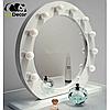 Зеркало настольное с лампочками для макияжа Sky черного цвета, фото 9