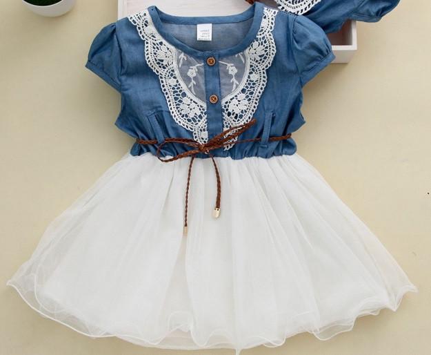 Оригинальное коттоновое  платье размер 110.