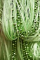 Штори нитки Діско зелений