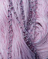 Штори нитки Діско рожевий