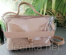 Прозрачный силикон, материал для пошива сумок, косметичек,кошельков и других аксессуаров