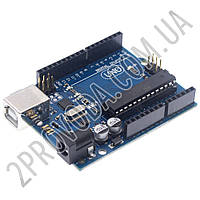 Контроллер Arduino UNO R3 (ATmega328 + ATmega16)