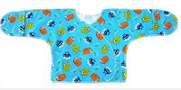 Сорочка монстрики бірюзова для немовлят