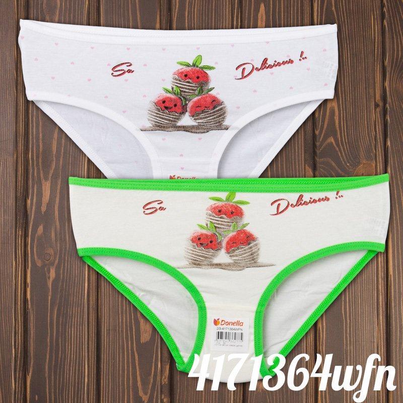 Трусы мини-бикини детские для девочки с принтом Donella (Турция) 2/3-4171364WFN