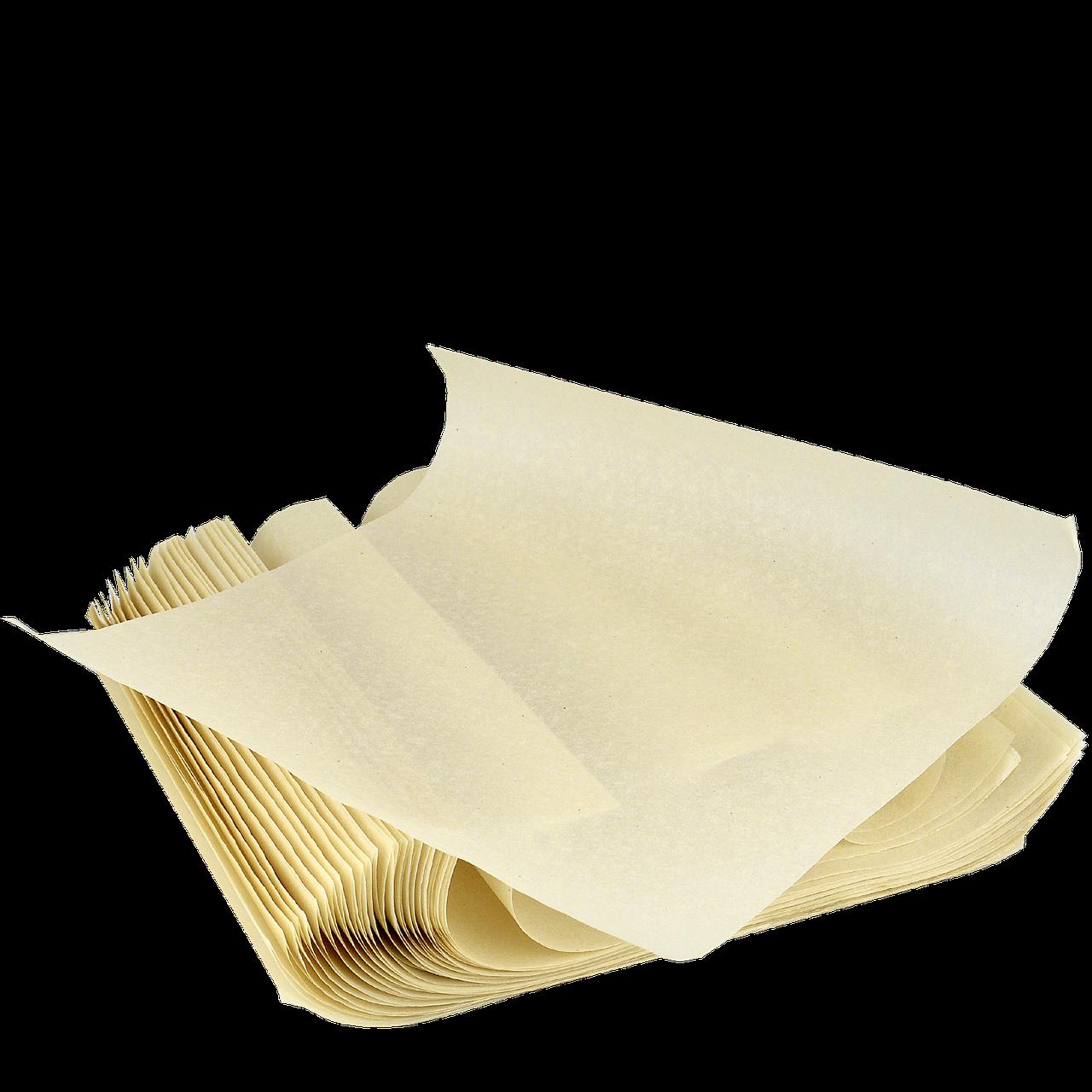 Вкладиш пергаментний в коробку для піци 300х280 мм