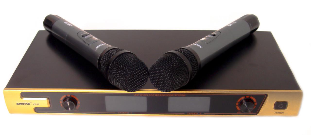 Радіосистема SH UK-88, база, 2 мікрофона