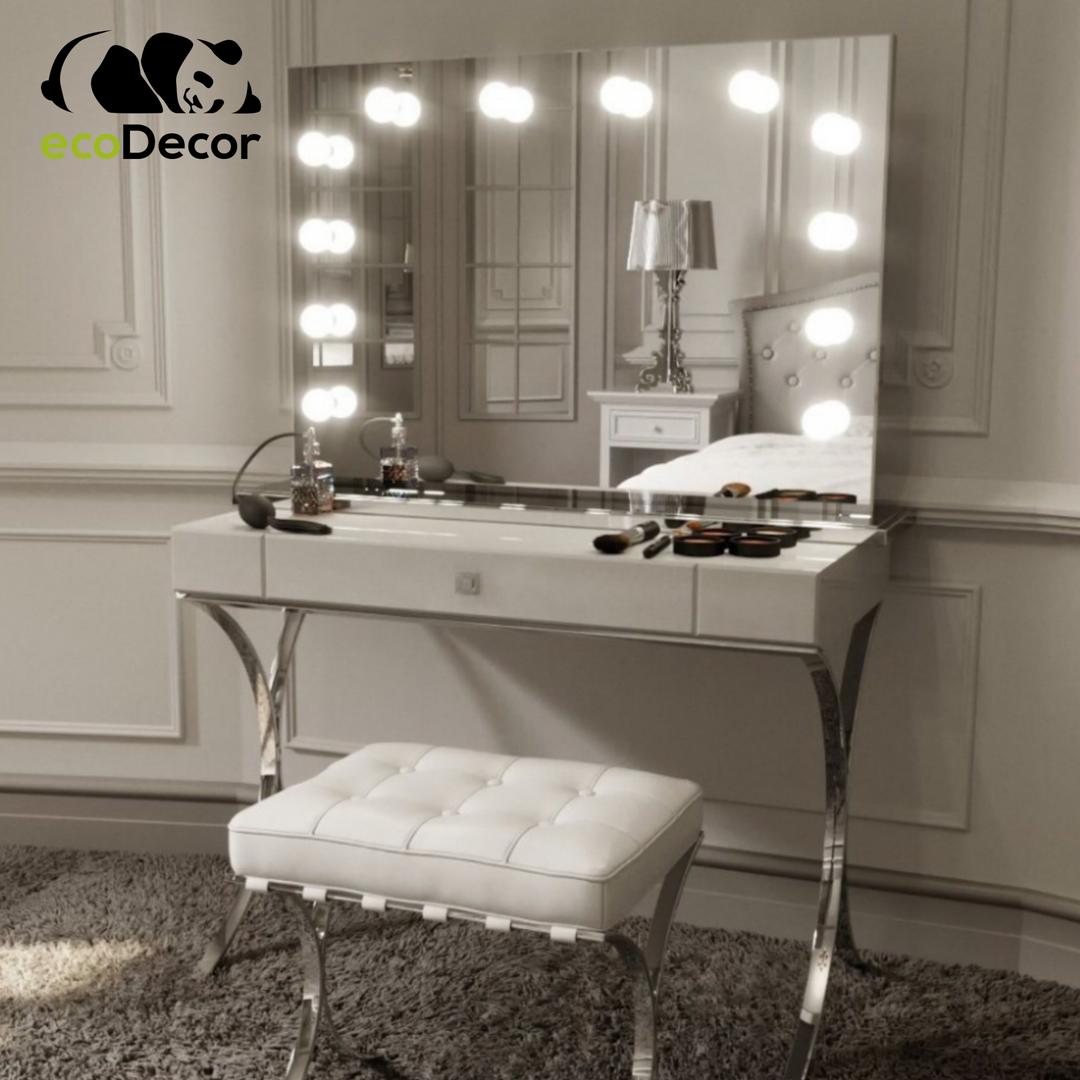 Зеркало с лампочками Moda
