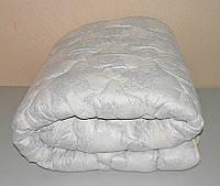 Одеяло полуторное наполнитель овечья шерсть ткань микрофибра (X-415)